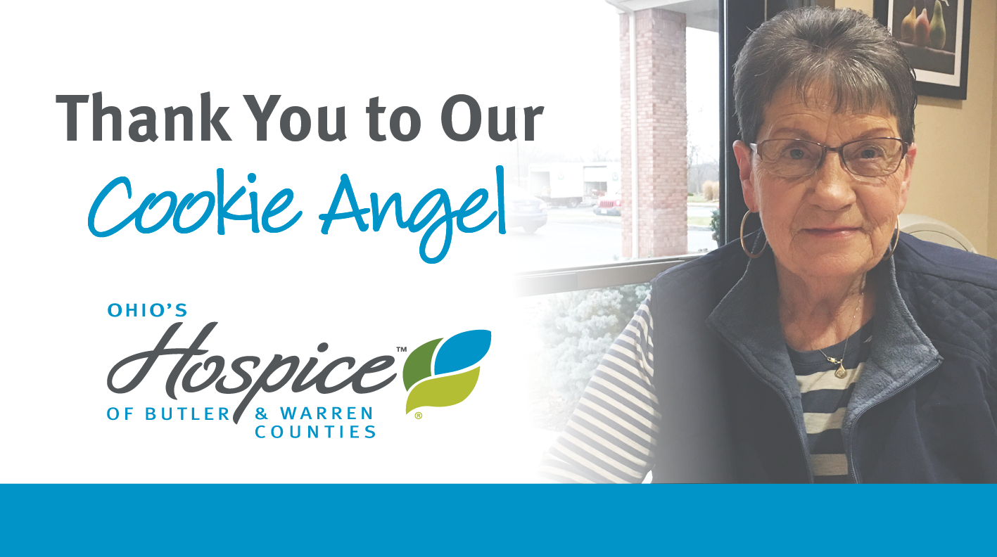 "In Gratitude To Our ""Cookie Angel"""