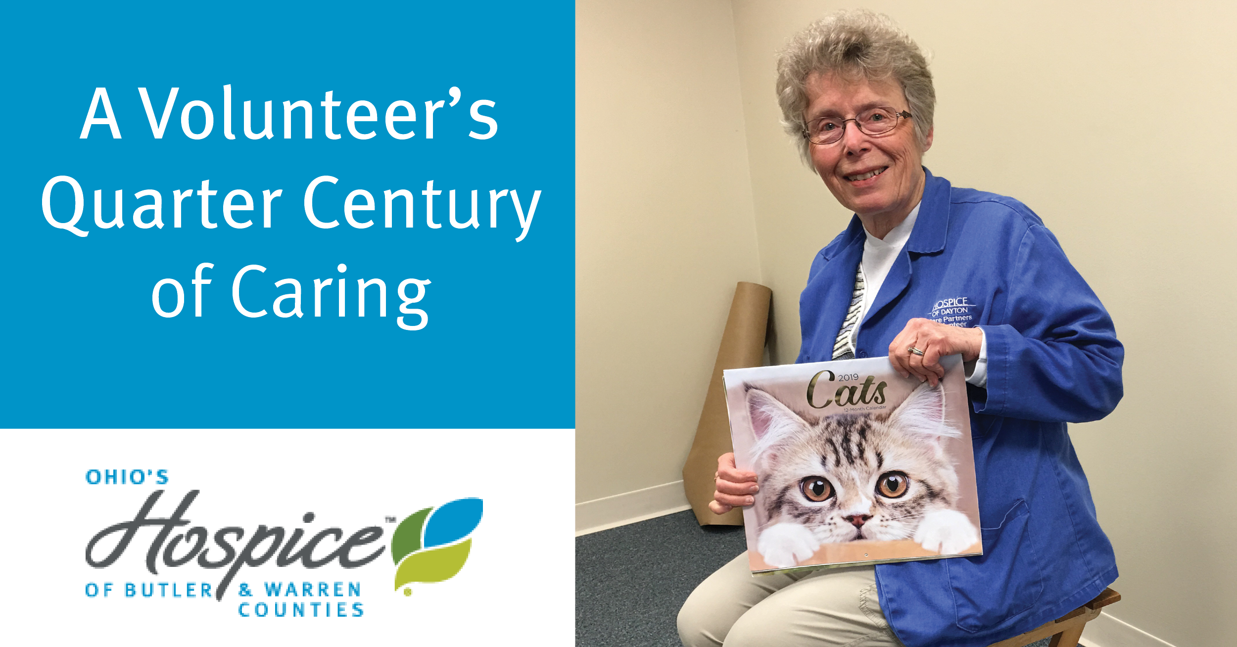 A Volunteer's Quarter Century Of Caring