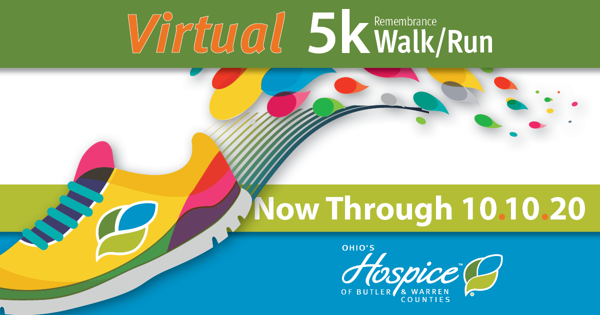 Ohio's Hospice of Butler & Warren Counties Virtual Remembrance Walk